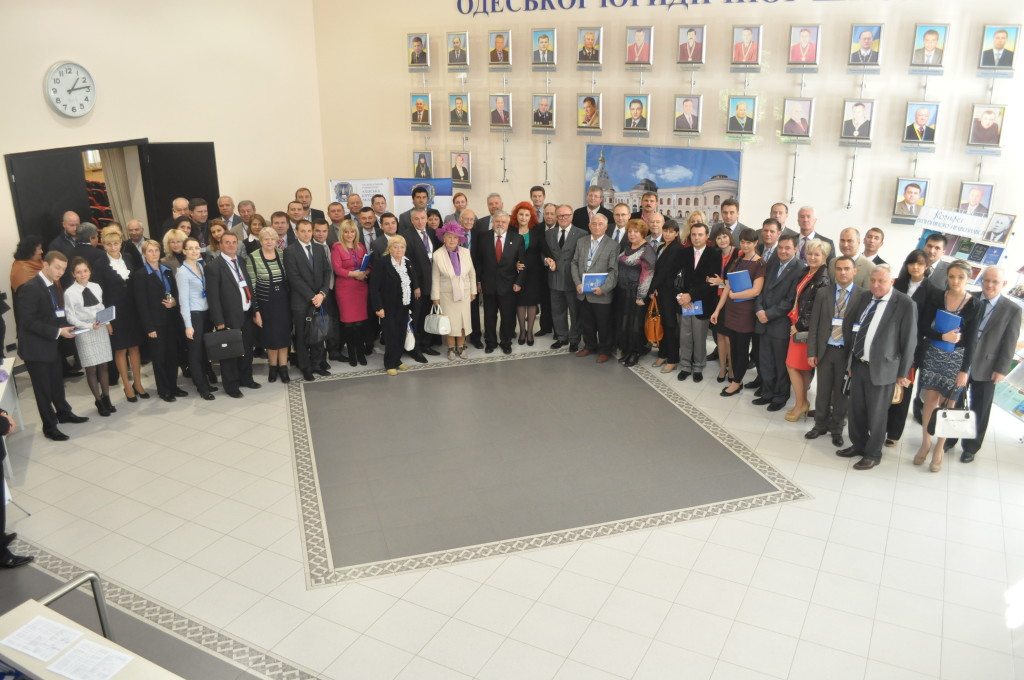 Участники конференции, посвященной 100-летию со дня рождения профессора В. П. Колмакова