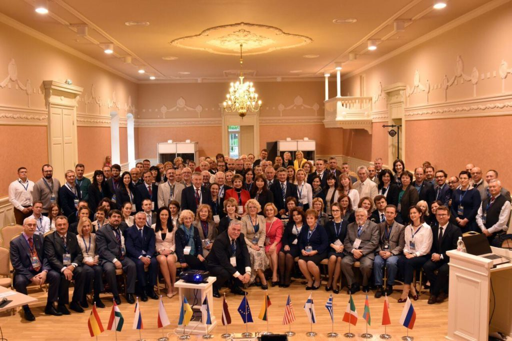 Участники конференции в Паланге