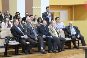 Выступление проф. М. О. Баева в ходе конференции