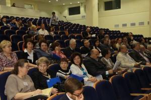 Участники конференции перед началом пленарного заседания