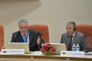 Conference moderators Hendryk Malevski and Valery Shepitko